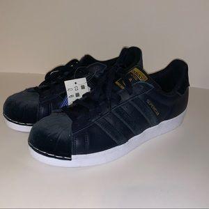 Blue velvet Adidas Superstar Originals